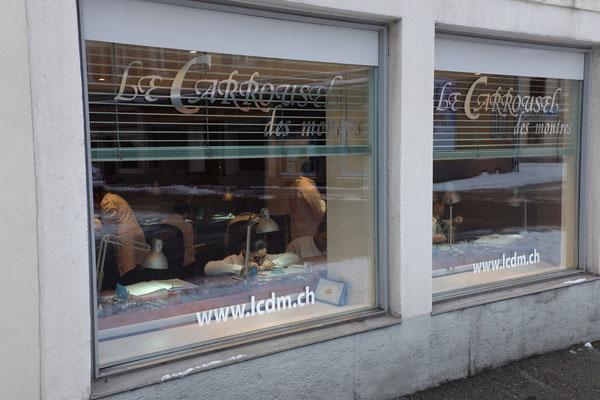 Atelier d'horlogerie, rue du Versoix