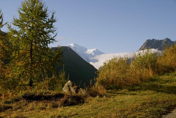 Le Mont- Blanc, depuis Finhaut, Valais, 2010