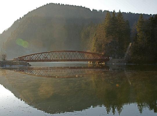 Biaufond, le Pont vers la France