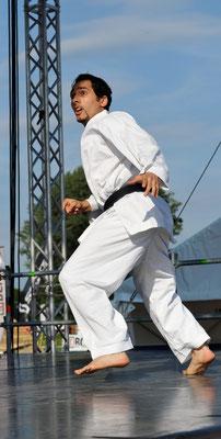 Karaté, festival des sports de rue, Neuchâtel, 2011