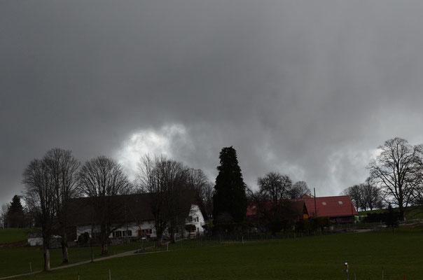 l'orage au Valanvron