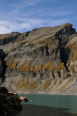 Depuis le vieux barrage d'Emosson Valais