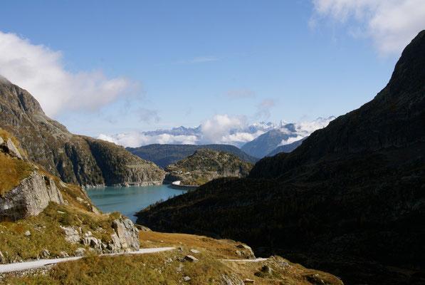 Barage d'Emosson, Valais