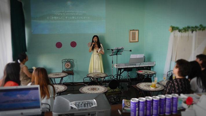 "At ""Jesus Cafe"" Chatan"