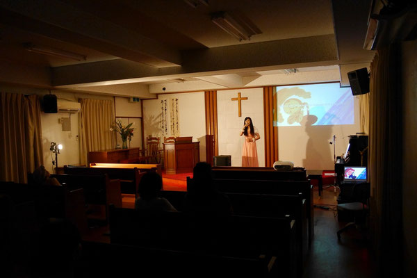 "At ""Okinawa chuo church"""