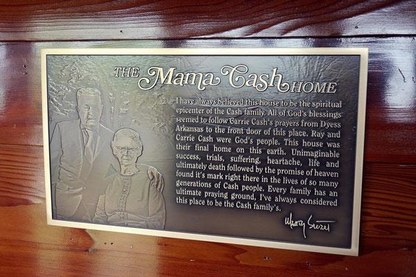 """Mama Cash"" home, Hendersnville"