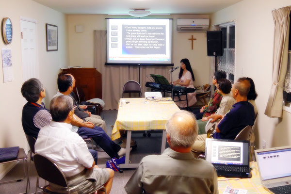 13th, Evening English service, Urayasui international christ church