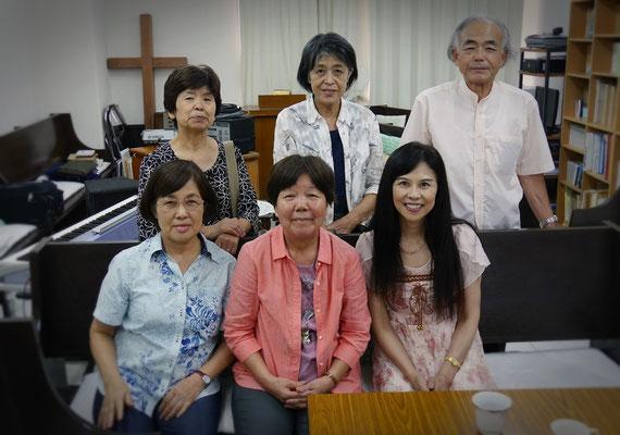 """At """"Nihon kurisuto church okinawa dendosho"""""""