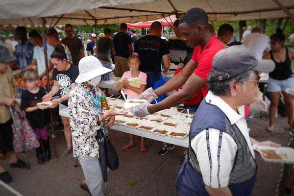 "At ""Yogi park"" in Naha. Feeding programm for the homeless every saturday."