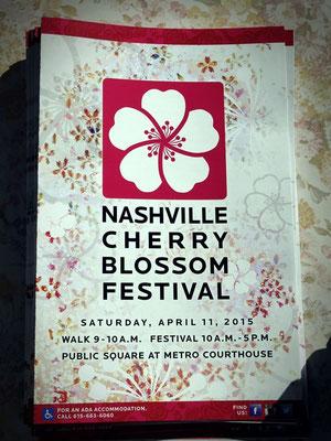 Cherry Blossom Festival Nashville, TN