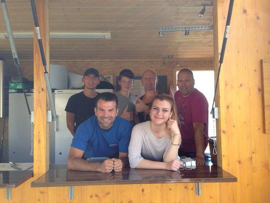 Uferfest 2015, Stand Boxteam Langeargen