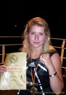 Annika Ruppaner - BW-Meisterin 2010