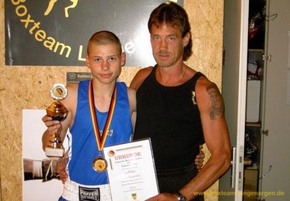 Jens Ruppaner - 3. Platz bei den Deutschen Kadetten-Meisterschaften