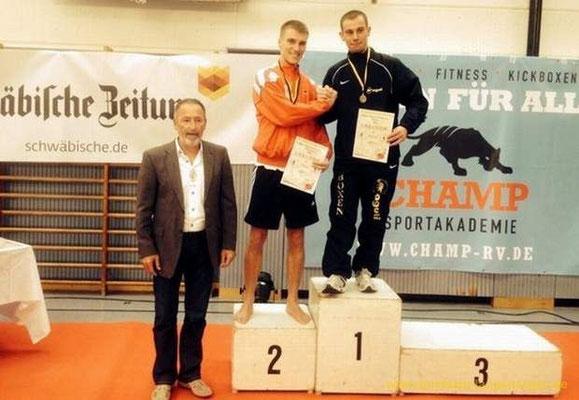 Max Geiger - 1. Platz BW-Meisterschaften -75 kg