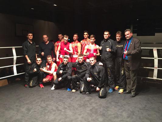Bodensee-Cup in Langenargen, Boxgemeinschaft Ostschweiz und BT Langenargen