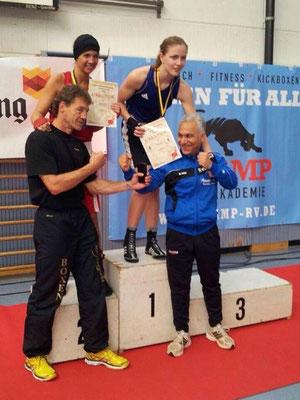 Melike Meddur - 2. Platz BW-Meisterschaften -69 kg