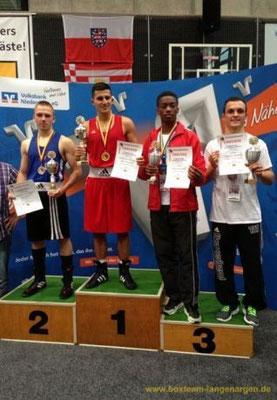 Kushtrim Mahmuti - 3. Platz Deutsche Meisterschaft in der U-21-Klasse