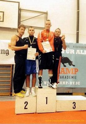 Besmir Kqiku - 2. Platz BW-Meisterschaften -81 kg Klasse B