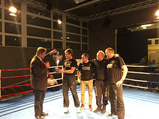 Bodenseecup - Pokalübergabe in Au am 11.06.2016