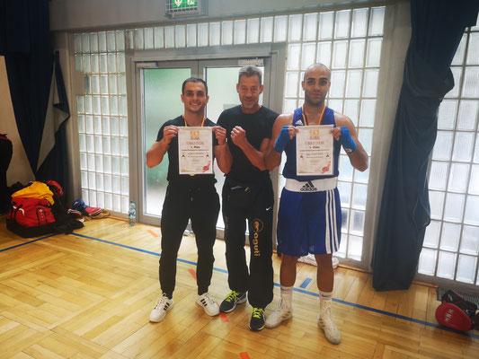 BVBW Meister 2019, Kushtrim und Enes