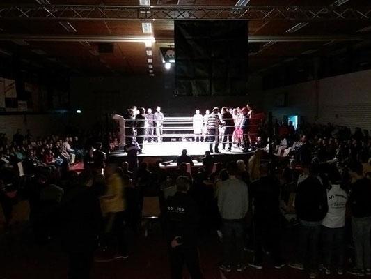 Vergleichskampf Boxclub Zürich (CH) vs. Boxteam Langenargen am 07.03.2015