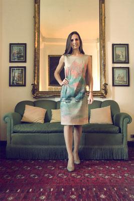 """Audrey """" Autumn"""" beige ital.size 46 pure cotton elast.    335€"""