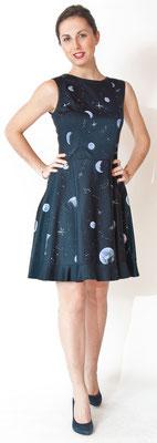 """Fleur de lys """"planets"""" it.size 42 pure cotton elast. / raso di cotone elast.   375€"""