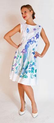 """Fleur de lys """"Lilly"""" it.size 46 pure cotton elast. /raso di coton elast.    375€"""