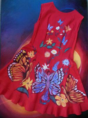 """Fleur de lys """"Butterfly""""  ital.size 46  cotton elast.   395€"""