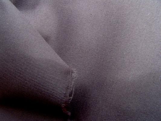 Baumwollköper, 220 cm breit in anthrazitgrau, sanforisiert