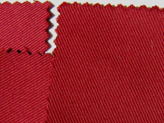 BW-Köper in bordeaux, 220 cm breit, 16,90 €/m