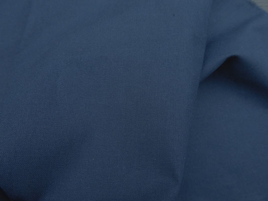 dunkelblauer Baumwollstoff, 150 cm breit