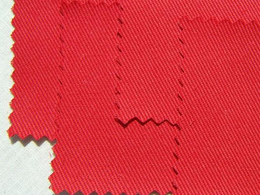 BW-Köper in tomatenrot, 220 cm breit, 16,90€/m