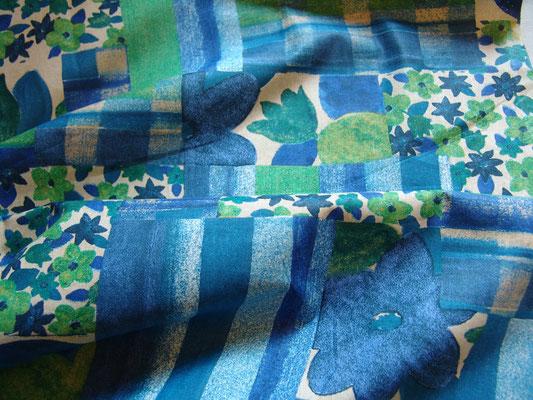 Patchworkmuster aus Baumwolle, Stoff von JAB