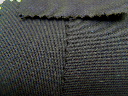 Baumwolle, sanfor, 200 cm breit, schwarz - 11,00 €/m