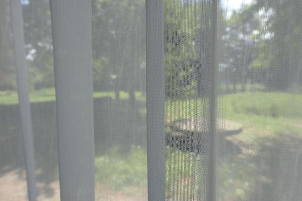 Transparenter Schleiernessel aus reiner Baumwolle