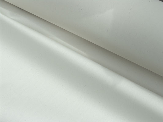 Baumwoll-Inlettstoff in weiß