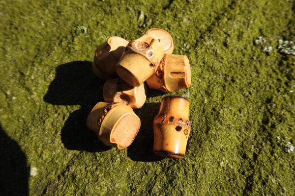 Bambusknopf klein