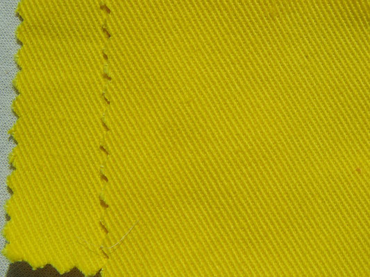 BW-Köper in zitronengelb, 220 cm breit, 16,90 €/m