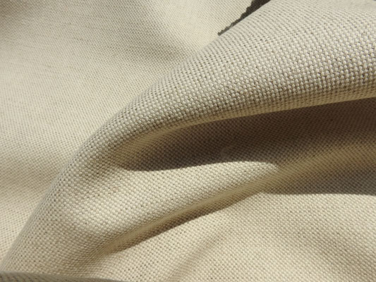 Leinen/Baumwolle Canvas natur
