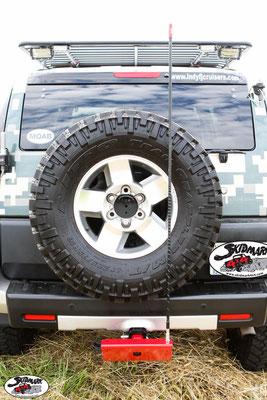 CB Antenna - Skid Plate V2 - Toyota FJ