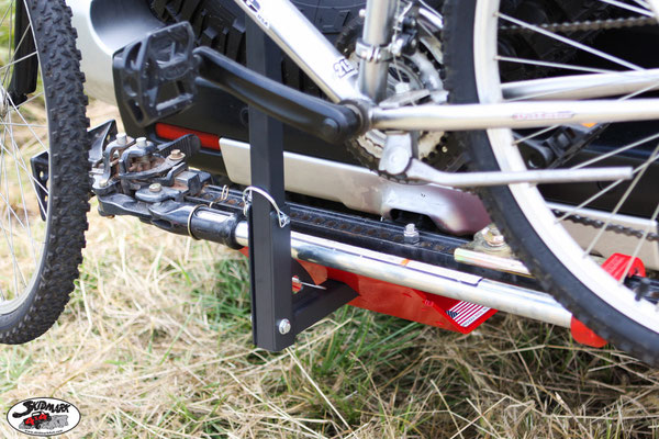 Bike Rack & Hi-Lift Jack Mounted - Skid Plate V2