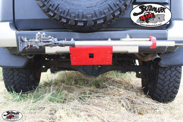 Hi-Lift Jack Mounted - Skid Plate V2