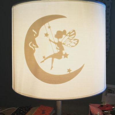 Lampenschirm individuell beplottet        ab €  25.- / exkl Lampe