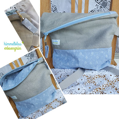 Fold Over Bag    gefüttert, verschiedene Ausführungen  ab  € 38 .-   Leder : Aufpreis