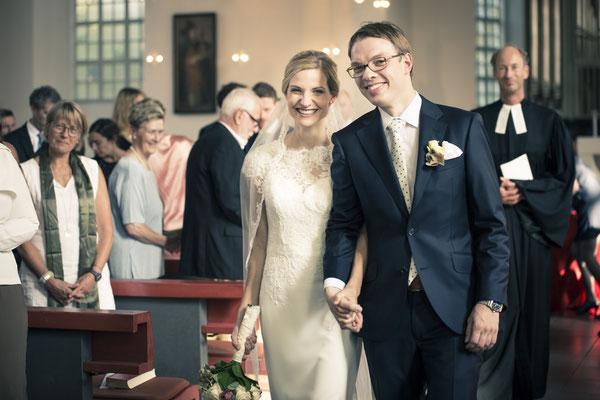 Brautpaar, Trauung, Zeremonie, Kirche St. Trinitatis, Hamburg, minalux, wedding photography, Hochzeitsreportage, Hochzeitsfotografie, Mina Esfandiari