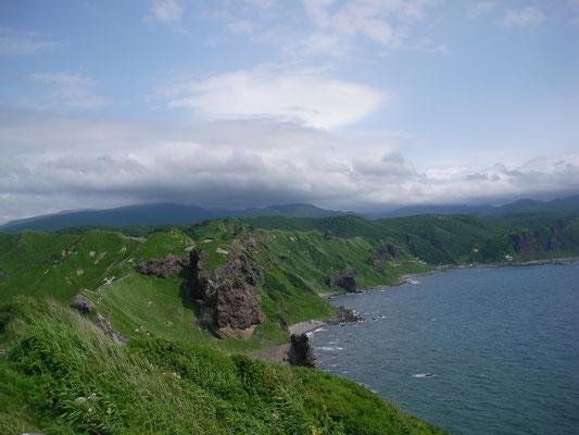積丹町。神威岬