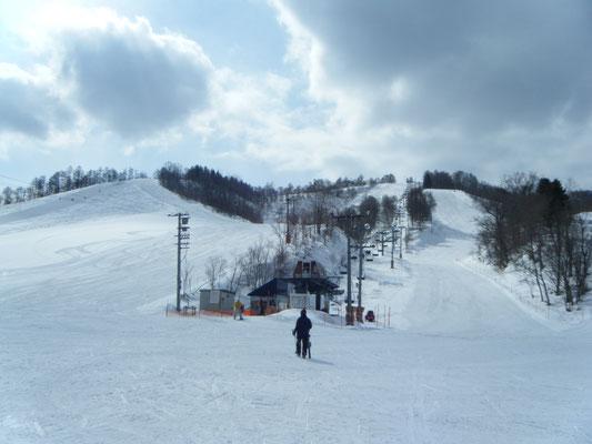 美唄市。美唄国設スキー場
