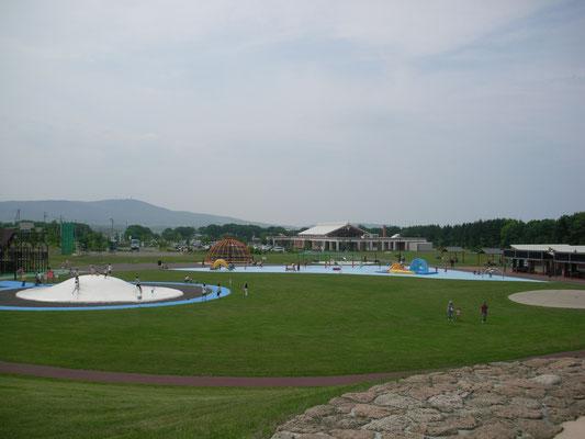 紋別市。北海道立オホーツク流氷公園