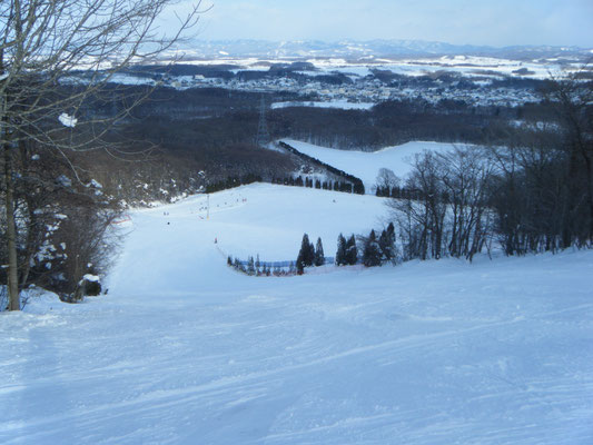 安平町。安平町営安平山スキー場